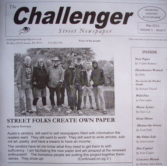 First Issue - Challenger Newspaper